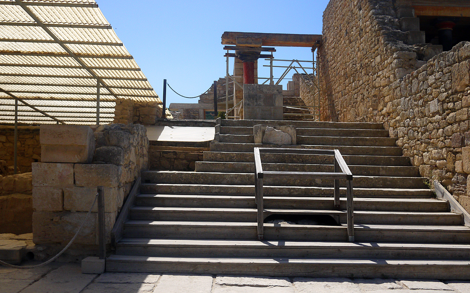 Knossos: grand staircase