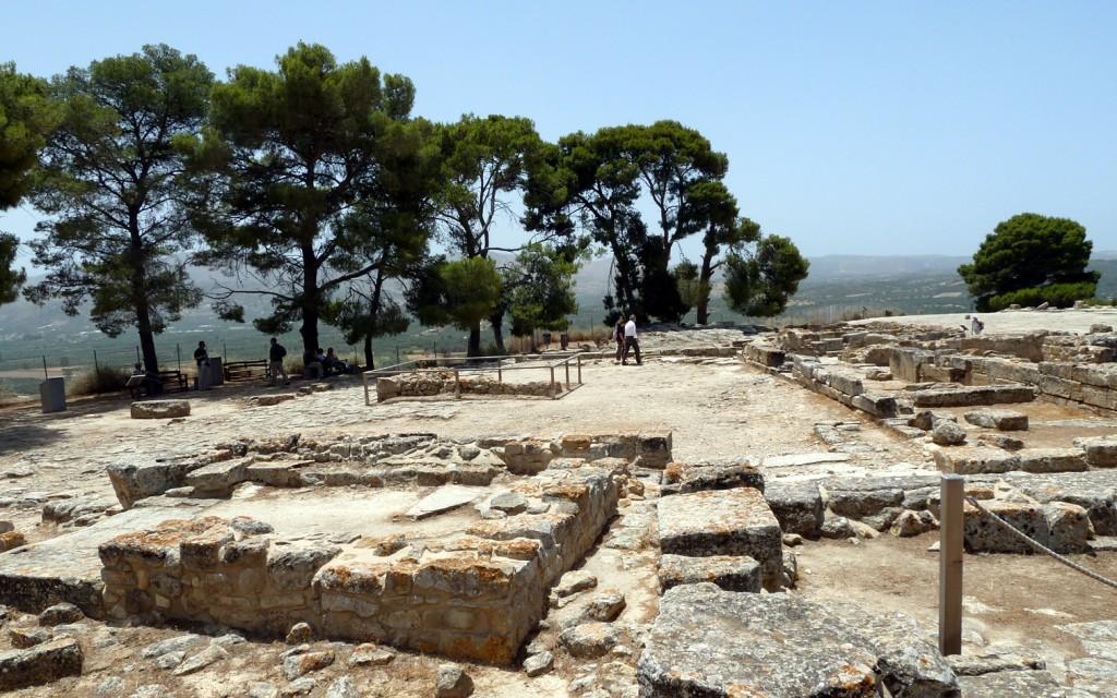 Phaistos workshop area