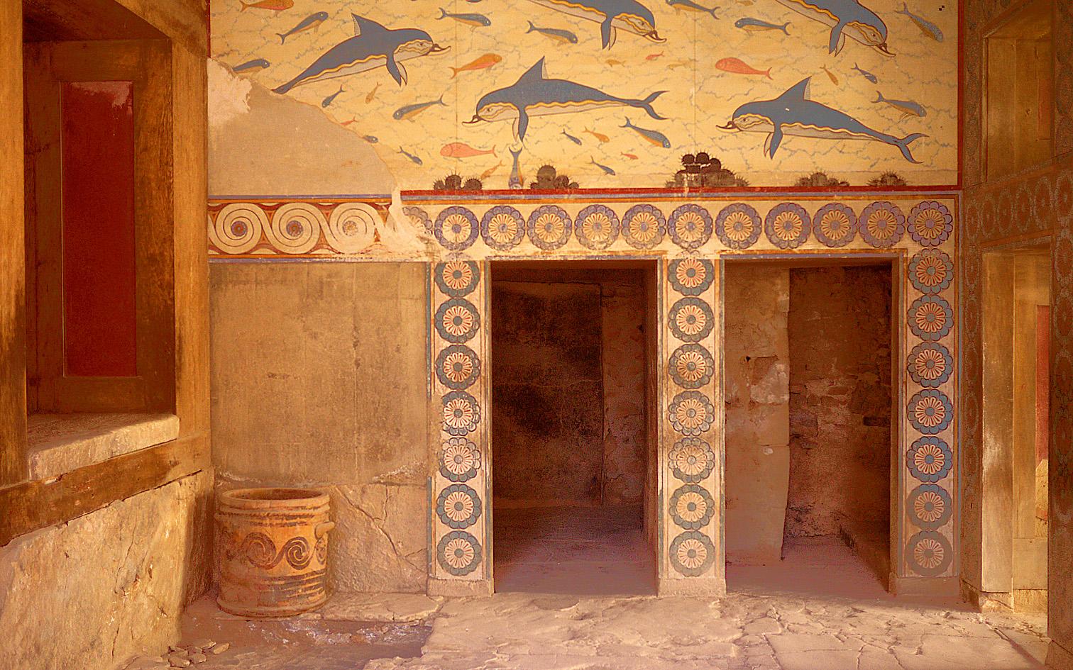 Knossos: the 'Queen's Megaron'