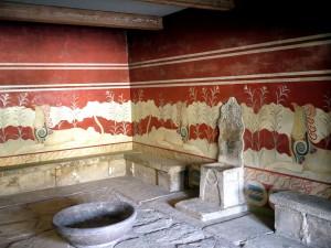 Knossos: the Throne room