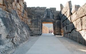 Mycenae Lion gate