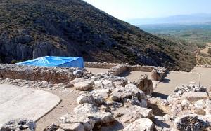 Mycenae: megaron