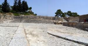 Phaistos staircase