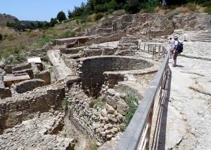 Phaistos early palace