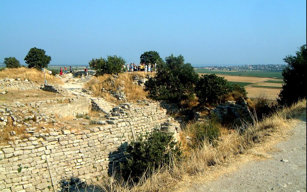 Mycenae: walls of Troy